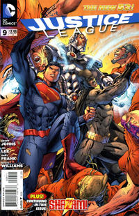 Cover Thumbnail for Justice League (DC, 2011 series) #9 [Direct Sales]
