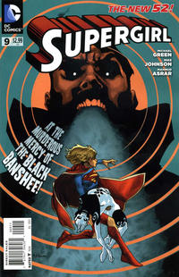 Cover Thumbnail for Supergirl (DC, 2011 series) #9 [Direct Sales]