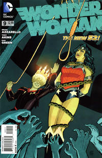 Cover Thumbnail for Wonder Woman (DC, 2011 series) #9