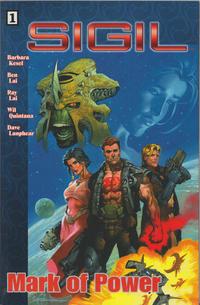 Cover Thumbnail for Sigil (CrossGen, 2001 series) #1 - Mark of Power