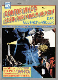 Cover Thumbnail for Doktor Who's Reisen durch Raum und Zeit (Condor, 1990 series) #1 - Der Gestaltwandler