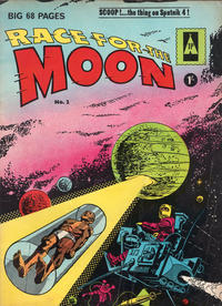 Cover Thumbnail for Race for the Moon (Thorpe & Porter, 1962 ? series) #2