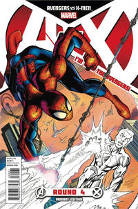 Cover for Avengers vs. X-Men (Marvel, 2012 series) #4 [Team X-Men Variant Cover by Mark Bagley]