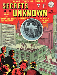 Cover Thumbnail for Secrets of the Unknown (Alan Class, 1962 series) #5