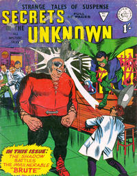 Cover Thumbnail for Secrets of the Unknown (Alan Class, 1962 series) #96