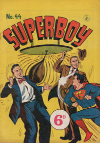 Cover Thumbnail for Superboy (K. G. Murray, 1949 series) #44 [Price difference]