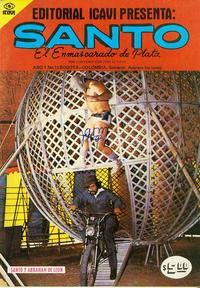 Cover Thumbnail for Santo El Enmascarado de Plata (Editorial Icavi, Ltda., 1976 series) #12