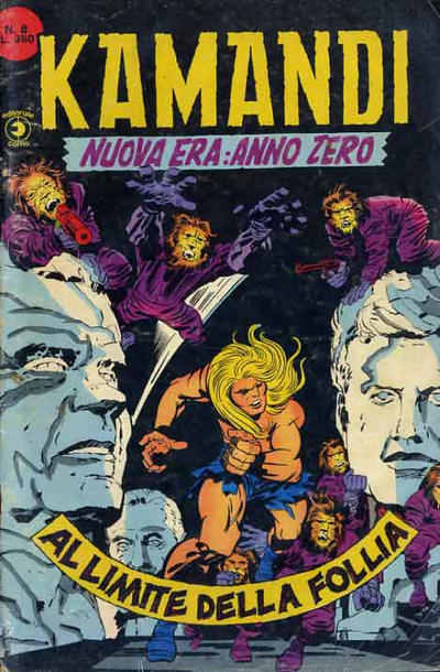 Cover for Kamandi (Editoriale Corno, 1977 series) #8
