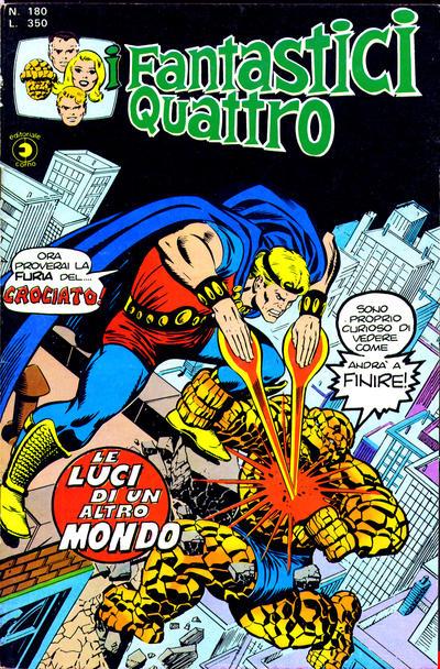 Cover for I Fantastici Quattro (Editoriale Corno, 1971 series) #180