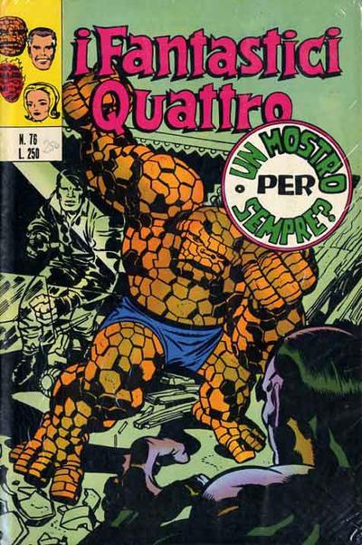 Cover for I Fantastici Quattro (Editoriale Corno, 1971 series) #76