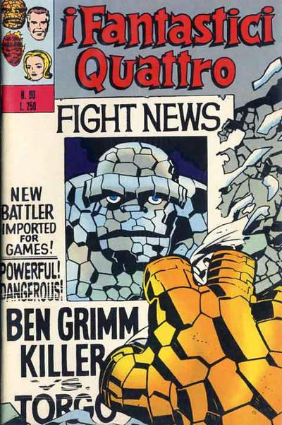 Cover for I Fantastici Quattro (Editoriale Corno, 1971 series) #90
