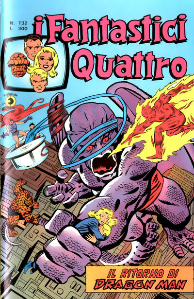 Cover for I Fantastici Quattro (Editoriale Corno, 1971 series) #132