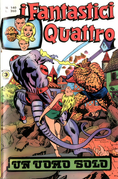 Cover for I Fantastici Quattro (Editoriale Corno, 1971 series) #140