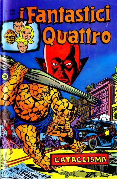 Cover for I Fantastici Quattro (Editoriale Corno, 1971 series) #149