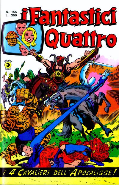 Cover for I Fantastici Quattro (Editoriale Corno, 1971 series) #155