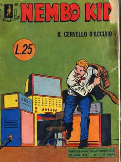 Cover for Albi del Falco (Arnoldo Mondadori Editore, 1954 series) #59