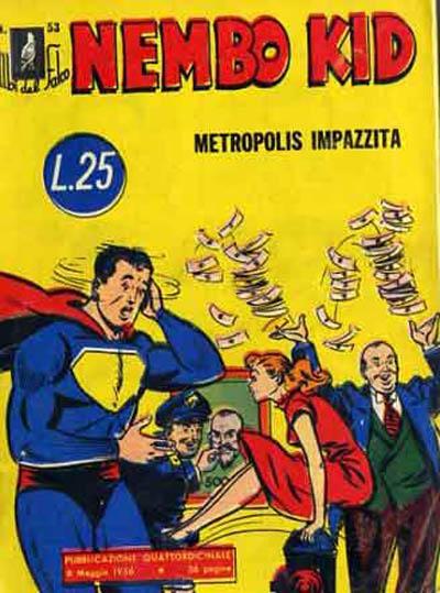 Cover for Albi del Falco (Arnoldo Mondadori Editore, 1954 series) #53