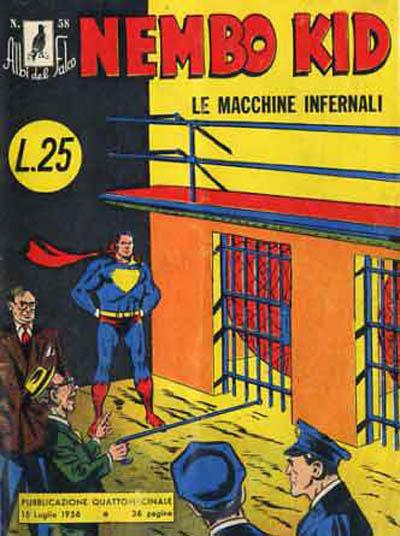 Cover for Albi del Falco (Arnoldo Mondadori Editore, 1954 series) #58