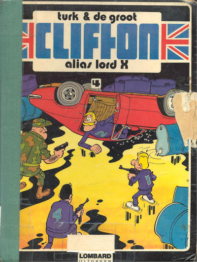 Cover for Clifton (Le Lombard, 1978 series) #4 - Alias Lord X