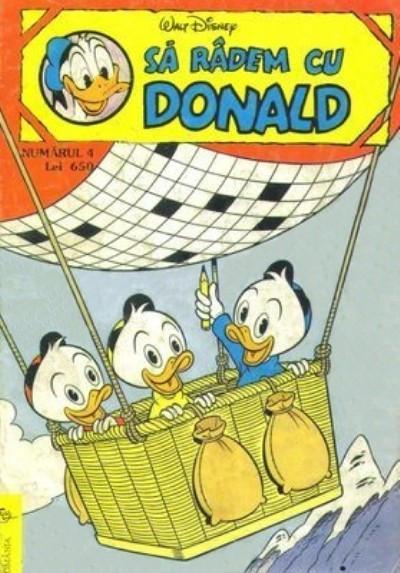 Cover for Sâ Râdem cu Donald (Egmont România, 1994 series) #4