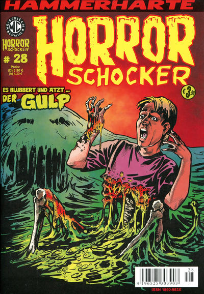 Cover for Horrorschocker (Weissblech Comics, 2004 series) #28