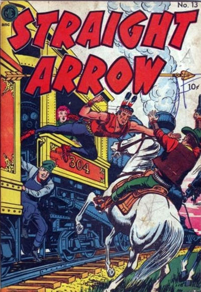 Cover for Straight Arrow (Superior Publishers Limited, 1950 series) #13
