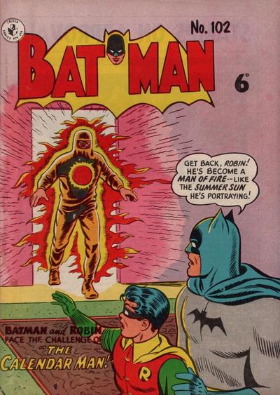 Cover for Batman (K. G. Murray, 1950 series) #102