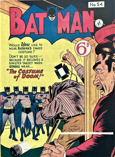 Cover for Batman (K. G. Murray, 1950 series) #54