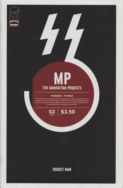 Cover for The Manhattan Projects (Image, 2012 series) #2