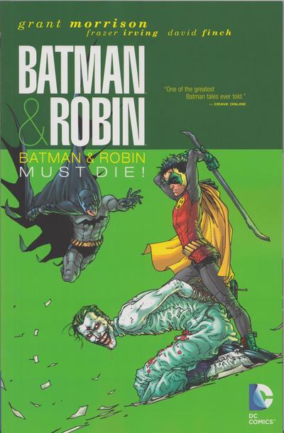 Cover for Batman and Robin (DC, 2011 series) #[3] - Batman & Robin Must Die!