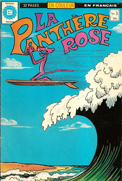 Cover for La Panthère Rose (Editions Héritage, 1978 series) #3