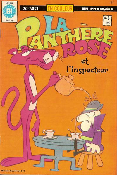 Cover for La Panthère Rose (Editions Héritage, 1978 series) #8