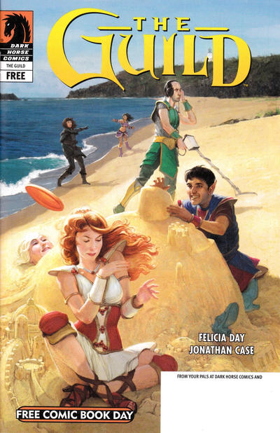 Cover for Free Comic Book Day and Buffy the Vampire Slayer Season 9 / The Guild: Beach'd (Dark Horse, 2012 series)