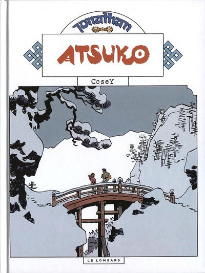 Cover for Jonathan (Le Lombard, 1977 series) #15 - Atsuko