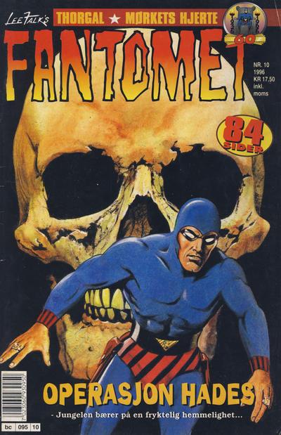 Cover for Fantomet (Semic, 1976 series) #10/1996