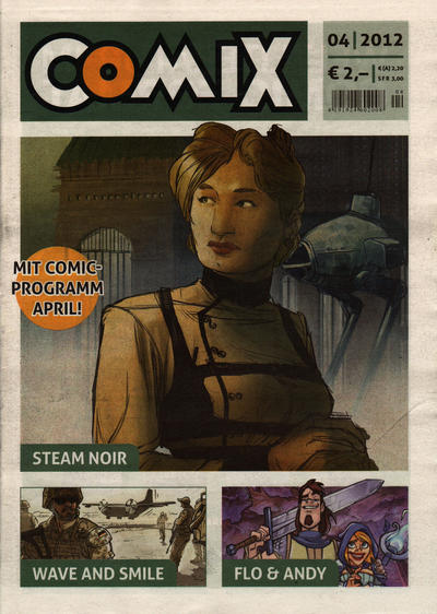 Cover for Comix (JNK, 2010 series) #4/2012