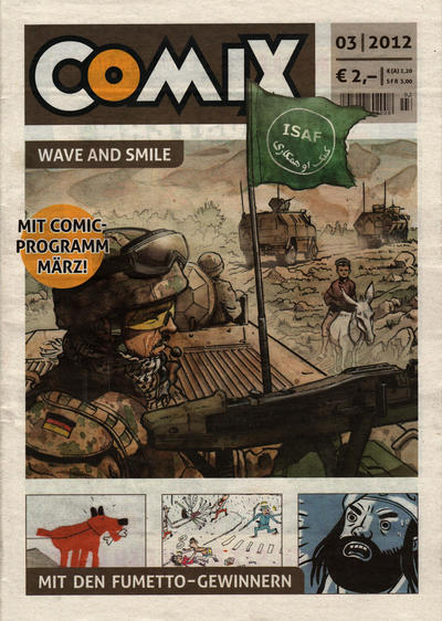 Cover for Comix (JNK, 2010 series) #3/2012