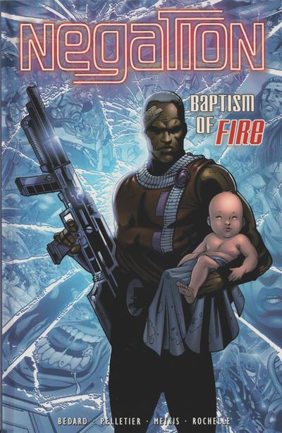 Cover for Negation (CrossGen, 2002 series) #2 - Baptism of Fire