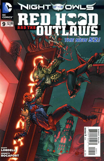Cover for Red Hood and the Outlaws (DC, 2011 series) #9
