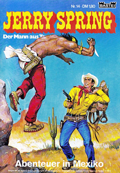 Cover for Jerry Spring (Bastei Verlag, 1972 series) #14