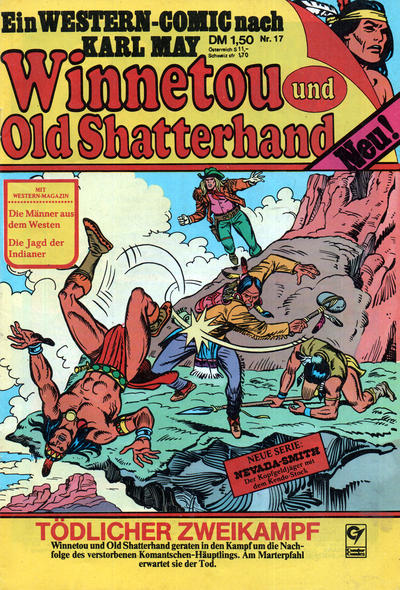 Cover for Winnetou und Old Shatterhand (Condor, 1977 series) #17