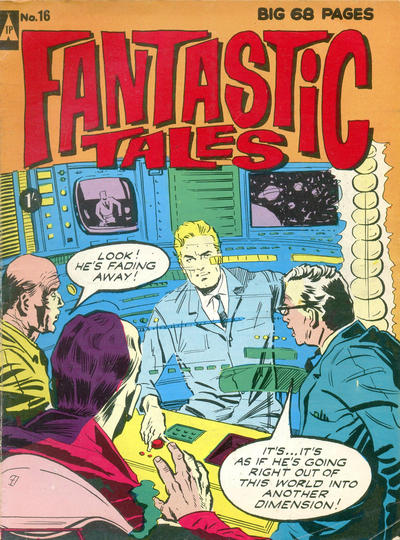 Cover for Fantastic Tales (Thorpe & Porter, 1963 series) #16