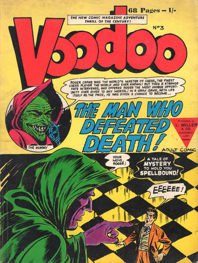 Cover for Voodoo (L. Miller & Son, 1961 series) #3