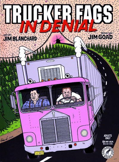 Cover for Trucker Fags in Denial (Fantagraphics, 2004 series)