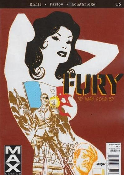 Cover for Fury Max (Marvel, 2012 series) #2