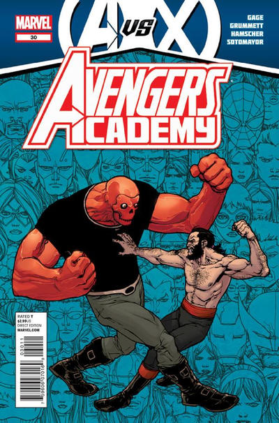 Cover for Avengers Academy (Marvel, 2010 series) #30