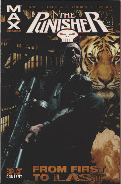 Cover for Punisher MAX: From First to Last (Marvel, 2008 series)