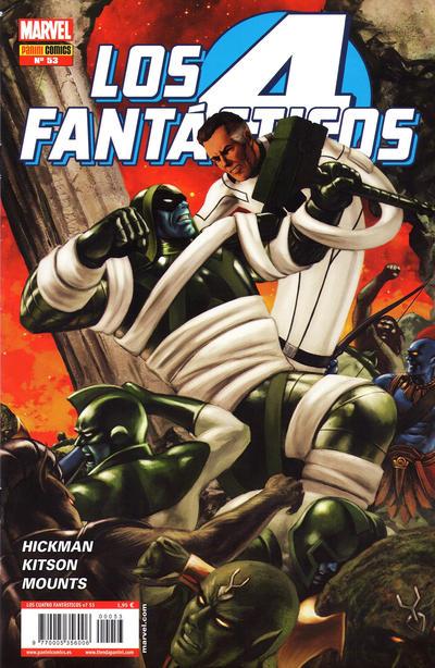 Cover for Los 4 Fantásticos (Panini España, 2008 series) #53
