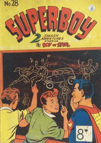 Cover for Superboy (K. G. Murray, 1949 series) #28