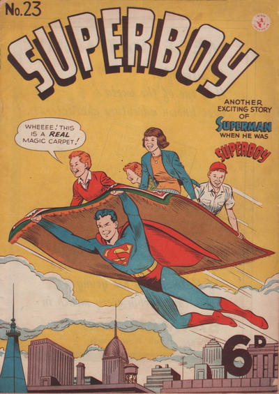 Cover for Superboy (K. G. Murray, 1949 series) #23